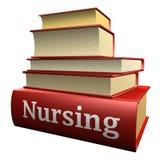 Libri di formazione - professione d'infermiera Immagini Stock Libere da Diritti