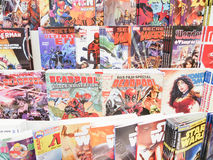 Libri di fumetti Immagini Stock