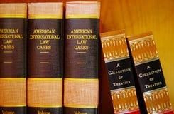Libri di legge Immagine Stock