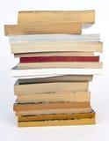 Libri di libro in brossura usati Fotografia Stock Libera da Diritti