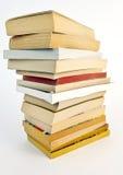 Libri di libro in brossura usati Fotografie Stock Libere da Diritti