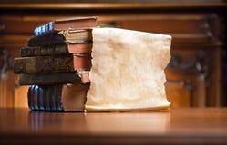 Libri di mistero. Fotografia Stock
