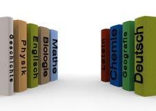 Libri di scuola Fotografia Stock Libera da Diritti