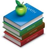 Libri di scuola Fotografie Stock