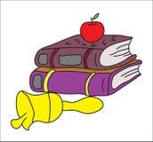 Libri di scuola Immagine Stock Libera da Diritti