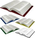 Libri di vettore Fotografia Stock Libera da Diritti