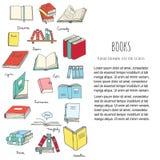 Libri e lettura Fotografia Stock Libera da Diritti