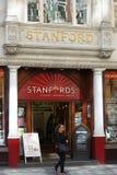 Libri e mappe di Stanfords Fotografia Stock