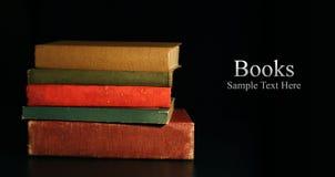 Libri e testo Fotografia Stock Libera da Diritti