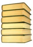 Libri, impilati su a vicenda fotografia stock libera da diritti