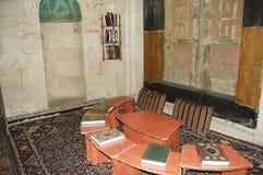 Libri islamici in una moschea - Aleppo - Siria Immagini Stock Libere da Diritti