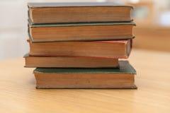 Libri molto vecchi Fotografia Stock Libera da Diritti