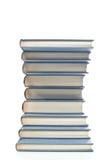 Libri ordinatamente impilati Immagini Stock Libere da Diritti