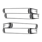 Libri semplici Fotografie Stock