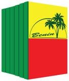 Libri sul Benin Immagine Stock