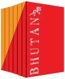 Libri sul Bhutan Fotografia Stock