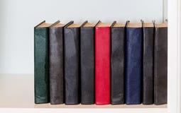 Libri sulla mensola Immagine Stock