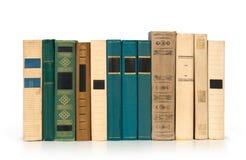 Libri in una riga, Fotografia Stock