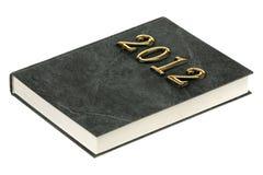Libro 2012 Foto de archivo libre de regalías