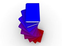 libro 3D Fotografia Stock Libera da Diritti