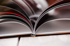 Libro abierto Fotografía de archivo libre de regalías