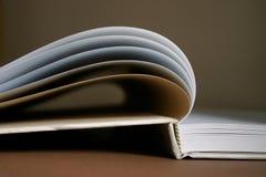 Libro abierto Fotos de archivo