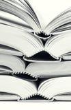 Libro abierto cuatro Imagen de archivo