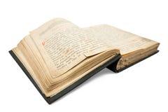 Libro abierto de la vendimia Imagen de archivo libre de regalías