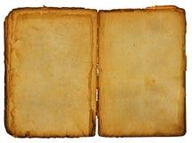 Libro abierto de la vendimia Fotos de archivo