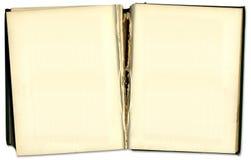 Libro abierto de la vendimia vieja Fotos de archivo libres de regalías