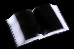 Libro abierto del misterio Foto de archivo libre de regalías