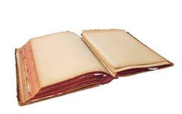 Libro abierto viejo imágenes de archivo libres de regalías