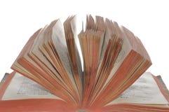 Libro abierto viejo Imagen de archivo libre de regalías