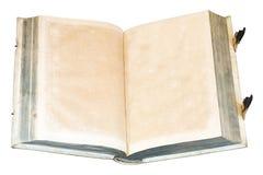 Libro abierto viejo Fotos de archivo libres de regalías