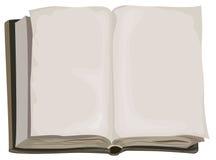 Libro abierto viejo de Brown un Imagen de archivo libre de regalías