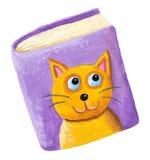 Libro acerca de gatos Imagenes de archivo