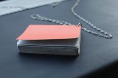 Libro anaranjado 1 Imágenes de archivo libres de regalías