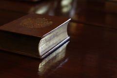 Libro antico Immagini Stock