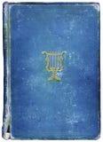 Libro antico consumato con il simbolo musicale Fotografia Stock