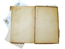 Libro antico dell'annata Immagine Stock Libera da Diritti