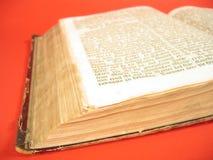 Libro antico III Fotografia Stock