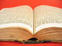 Libro antico IV immagine stock
