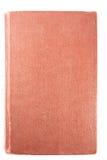 Libro antico rosso Immagine Stock