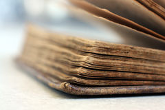 Libro antico/vecchio Immagine Stock