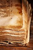 Libro antiguo Fotografía de archivo libre de regalías