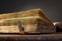 Libro antiguo Fotografía de archivo