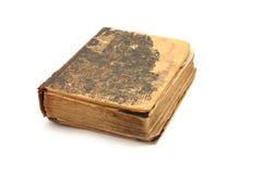 Libro antiguo de la vendimia con las paginaciones viejas foto de archivo