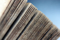 Libro antiguo/viejo fotografía de archivo