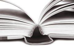 Libro aperto Fotografie Stock
