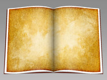Libro aperto concettuale d'annata Fotografia Stock